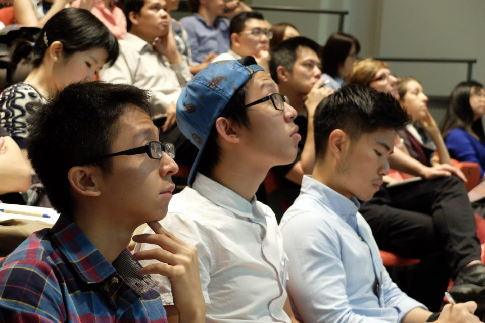 Audience in DESIAP 2015 held at the National Design Centre, Singapore