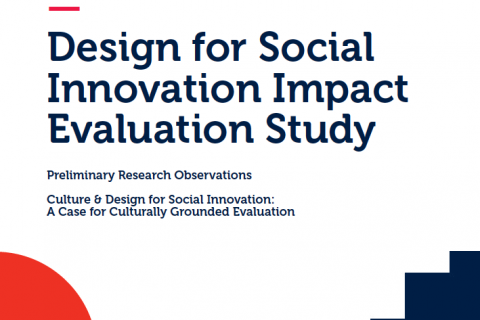 Design for Social Innovation Impact Evaluation Study | 2017