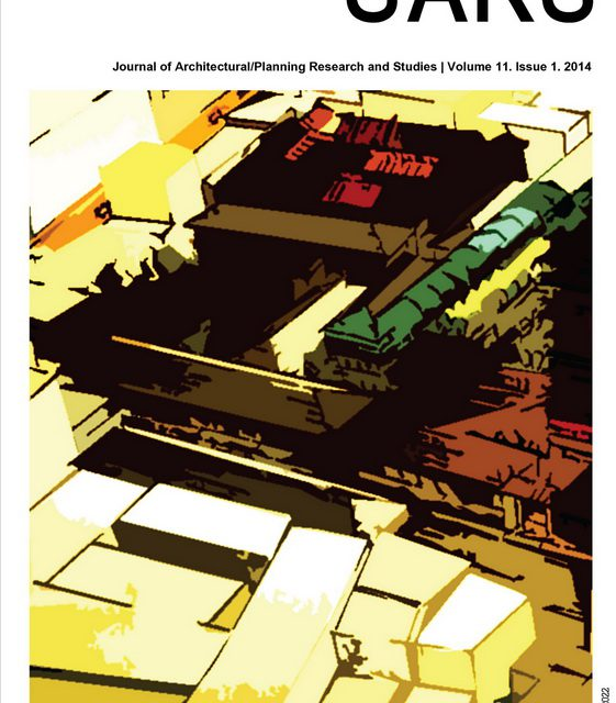 Journal of Architecture/Planning Research and Studies