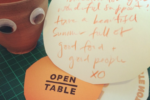 Open Table | using surplus food to create magical community Sunday dinners